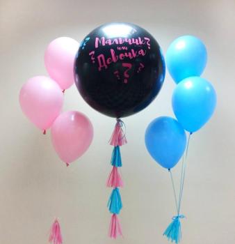 """Воздушные шары """"Мальчик или девочка"""""""