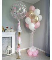 """Воздушные шары """"Нежно розовая радость"""""""