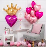"""Воздушные шары """"Любимой Принцессе"""""""