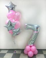 """Воздушные шары """"Розовый блеск"""""""