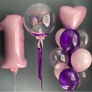 """Воздушные шары """"Для принцессы"""""""